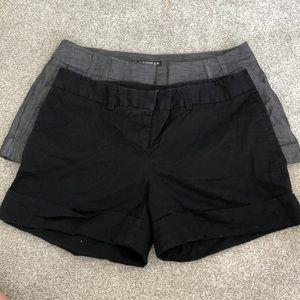 Two pairs of express shorts